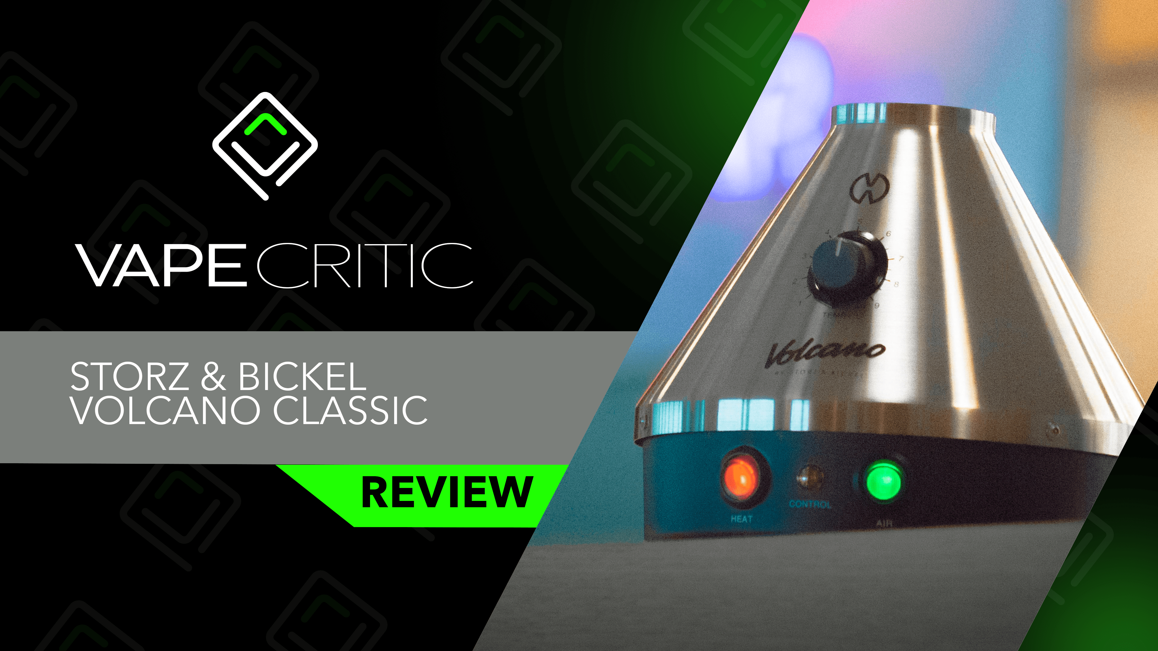 Volcano Classic Review video thumbnail